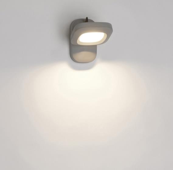מנורת לד אפורה - luce לוצ'ה תאורה - עודפים