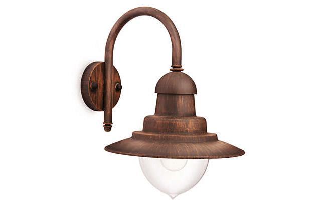 מנורת קיר ברונזה - luce לוצ'ה תאורה - עודפים
