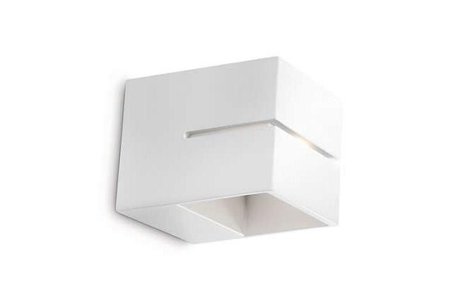 מנורת קיר לבנה - luce לוצ'ה תאורה - עודפים