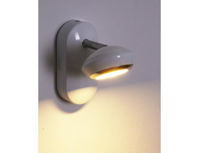 מנורה צמודת קיר לבנה - luce לוצ'ה תאורה - עודפים