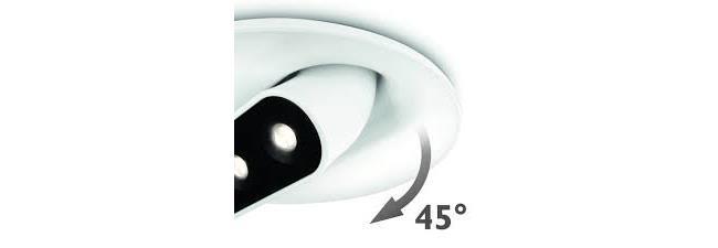 גוף תאורה שקוע לבן - luce לוצ'ה תאורה - עודפים