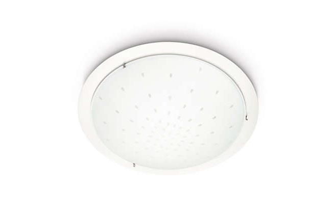 מנורה צמודת תקרה עגולה - luce לוצ'ה תאורה - עודפים