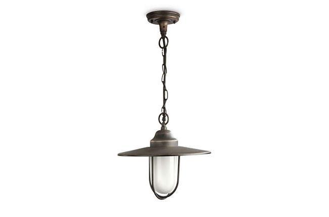 מנורה תלויה חומה - luce לוצ'ה תאורה - עודפים
