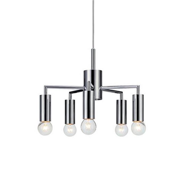 מנורת תלייה כרום TROPHY - LUCE לוצ'ה תאורה