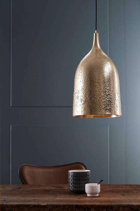 מנורת BONGO זהב - LUCE לוצ'ה תאורה