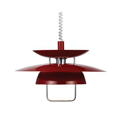 מנורה תלוייה BERGA אדום - LUCE לוצ'ה תאורה