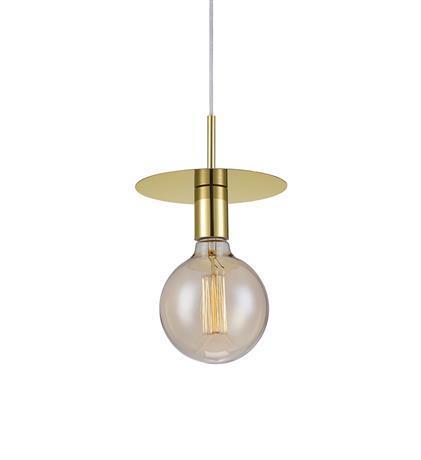 גוף תאורה תלוי דיסק זהב - LUCE לוצ'ה תאורה