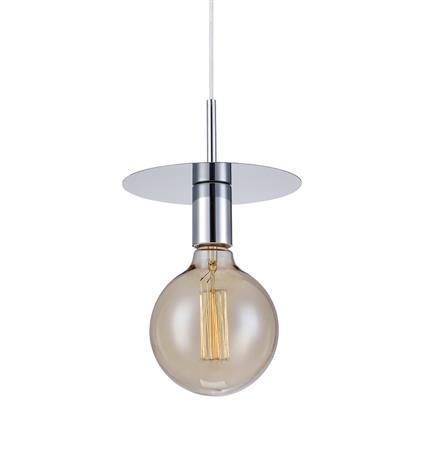 גוף תאורה תלוי דיסק כרום - LUCE לוצ'ה תאורה