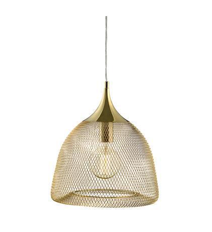 גוף תאורה תלוי GRID זהב - LUCE לוצ'ה תאורה