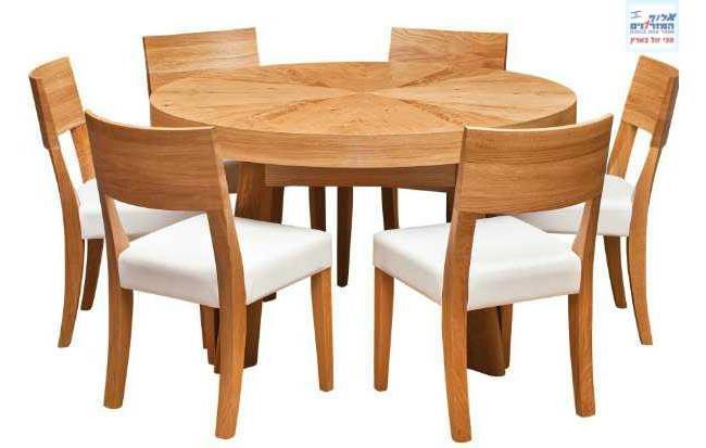 שולחן עגול - אלוף המזרונים