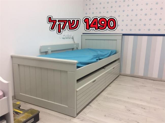 להפליא מיטת ילדים דגם פליפר מבית אלוף המזרונים   הדירה - פורטל לעיצוב הבית YZ-95
