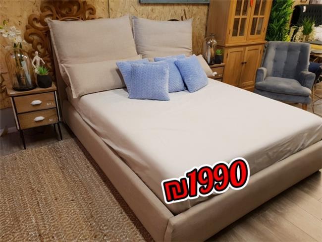 מיטה מעוצבת דגם יוליה - אלוף המזרונים