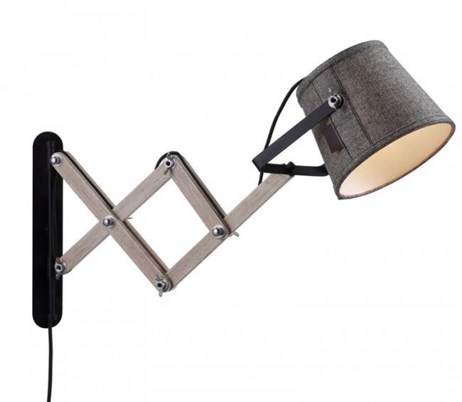 מנורת קיר מתכווננת - luce לוצ'ה תאורה - עודפים