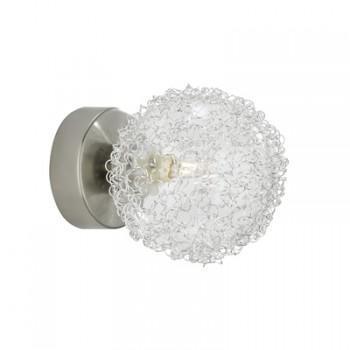 מנורת קיר ניקל - luce לוצ'ה תאורה - עודפים