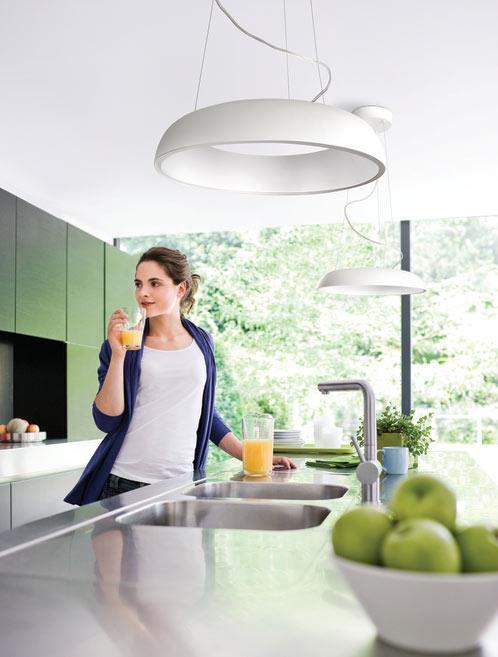 מנורת אלומיניום תלויה - luce לוצ'ה תאורה - עודפים