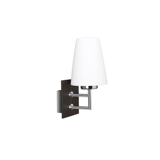 מנורת קיר כרום - luce לוצ'ה תאורה - עודפים