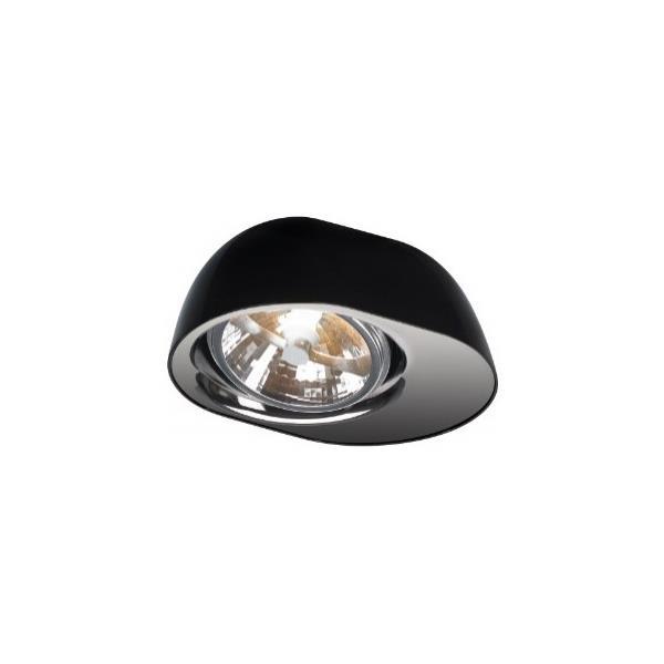 מנורת תקרה שחורה - luce לוצ'ה תאורה - עודפים