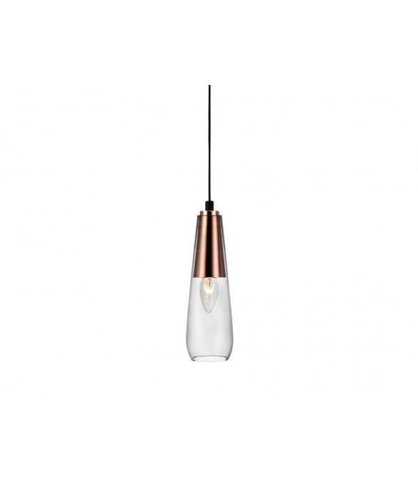 מנורת זכוכית תלויה - luce לוצ'ה תאורה - עודפים