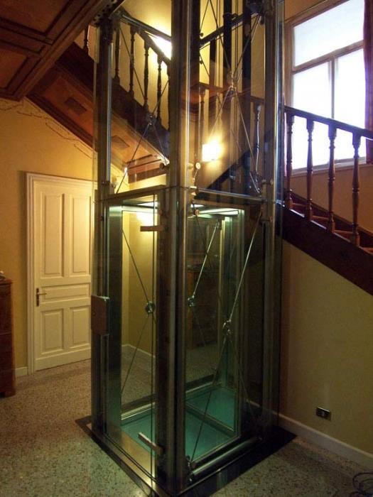 מעלית שקופה - אלקטרה תעמל - מעליות ומעלונים