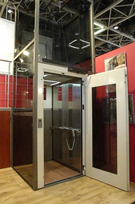 מעלית שקופה לבית - אלקטרה תעמל - מעליות ומעלונים