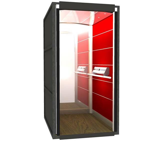 מעלית לבית בעיצוב ייחודי - אלקטרה תעמל - מעליות ומעלונים