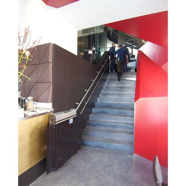 מדרגון משטח כהה - אלקטרה תעמל - מעליות ומעלונים