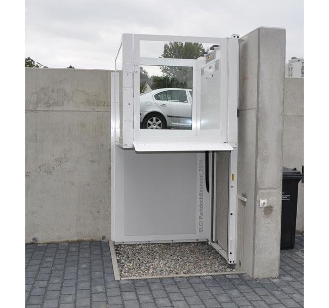 מעלון ללא פיר לבן - אלקטרה תעמל - מעליות ומעלונים