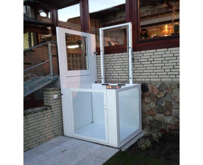 מעלון חיצוני ללא פיר - אלקטרה תעמל - מעליות ומעלונים