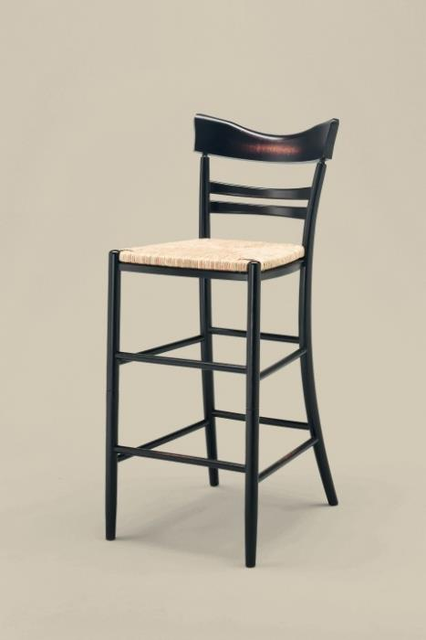 כסא בר בגוון שחור - כסאות בעיקר