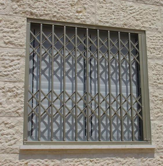 סורג מתקפל סגור לחלון - טרלידור