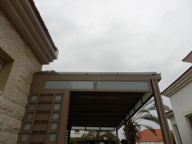 פרגולה מאלומיניום למרפסת - טרלידור