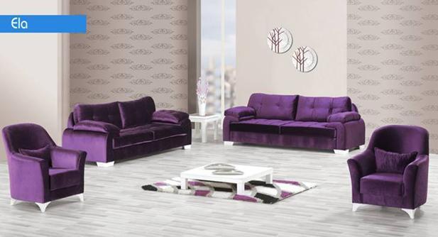 מערכת ישיבה סגולה - אלבור רהיטים