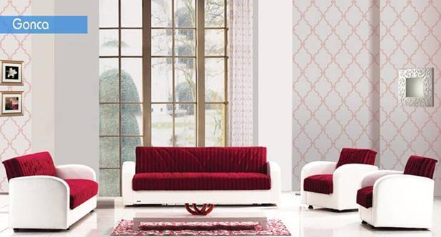 מערכת ישיבה אדומה - אלבור רהיטים