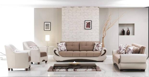 סלון בגוון בהיר - אלבור רהיטים