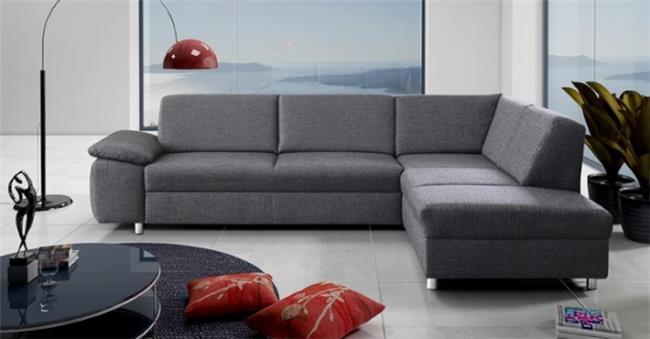 ספה אפורה פינתית - אלבור רהיטים