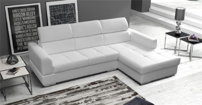 ספת שזלונג לבנה - אלבור רהיטים