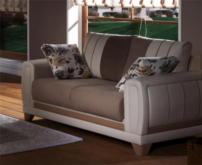 ספה מעוצבת קטנה - אלבור רהיטים