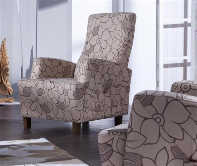 כורסא במראה פרחוני - אלבור רהיטים