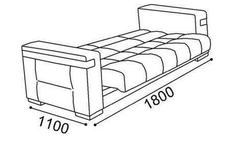 ספה דו נפתחת - אלבור רהיטים
