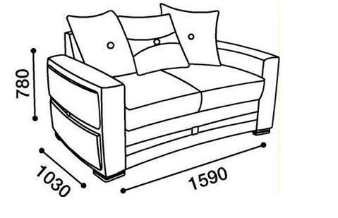 ספת דו מפוארת - אלבור רהיטים