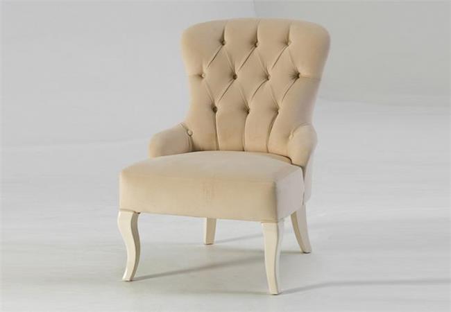 כורסא לבנה מרשימה - אלבור רהיטים