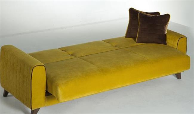 ספת תלת צהובה - אלבור רהיטים