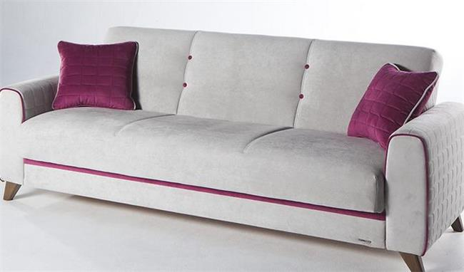 ספה אפורה בהירה - אלבור רהיטים