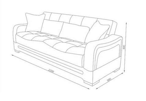 ספת סלון בעיצוב אלגנטי - אלבור רהיטים