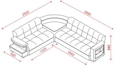 ספה פינתית מיוחדת - אלבור רהיטים