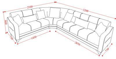 סלון פינתי - אלבור רהיטים