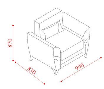 כורסא בהירה - אלבור רהיטים