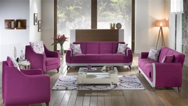 ריהוט ורוד לסלון - אלבור רהיטים