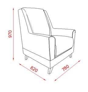 כורסא שמנת טורקיז - אלבור רהיטים