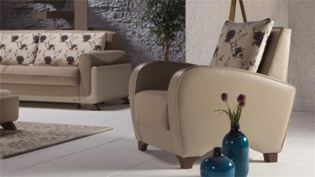 כורסא שמנת אלגנטית - אלבור רהיטים